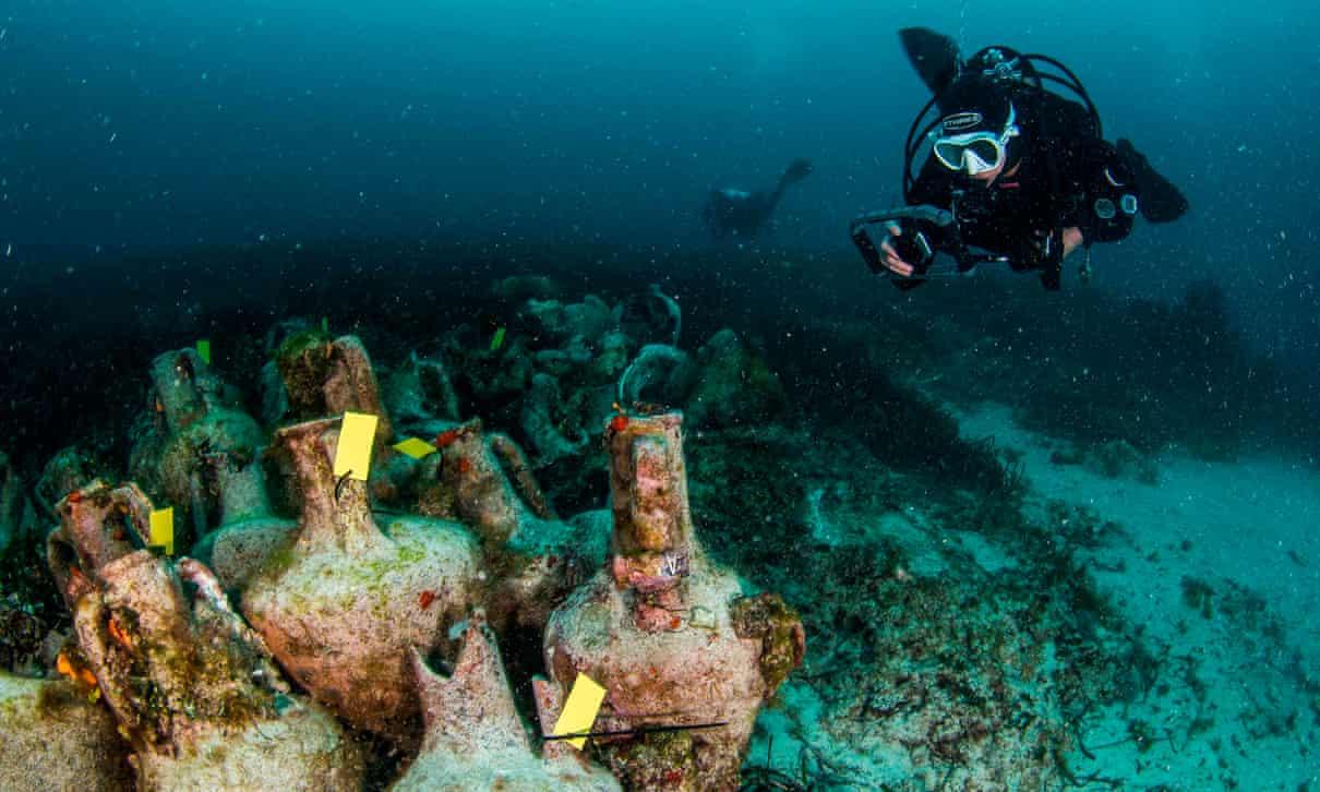 Първият подводен музей отвори в Гърция