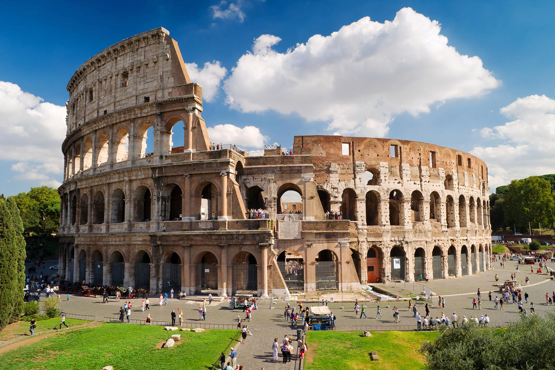 7.99 евро в посока за билет до Рим, Италия